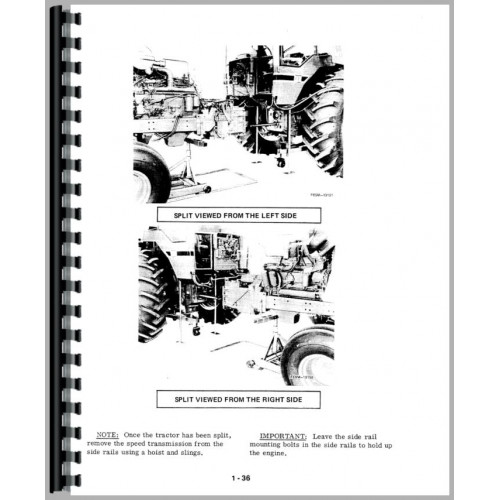 International Harvester 986 Tractor Service Manual (1976