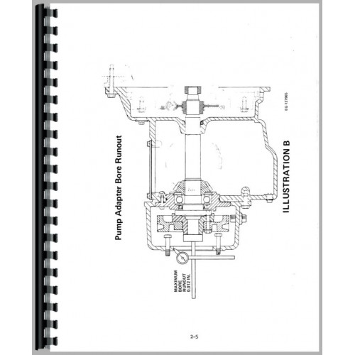 International Harvester 1480 Combine Service Manual (Chassis)