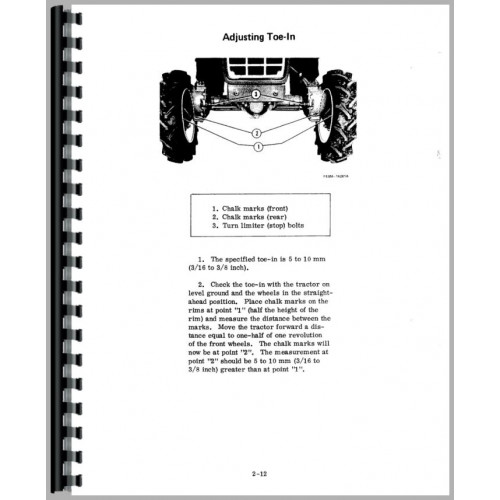 International Harvester 284 Tractor Service Manual