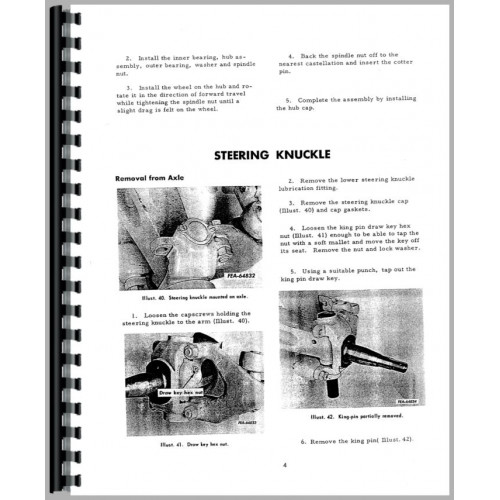 International Harvester 3444 Industrial Tractor Service Manual
