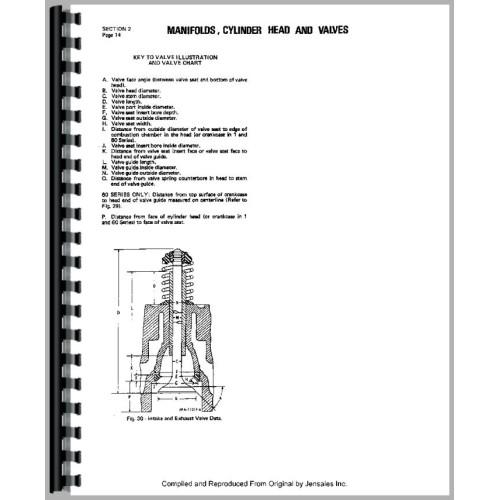 International Harvester 500 Crawler Engine Service Manual