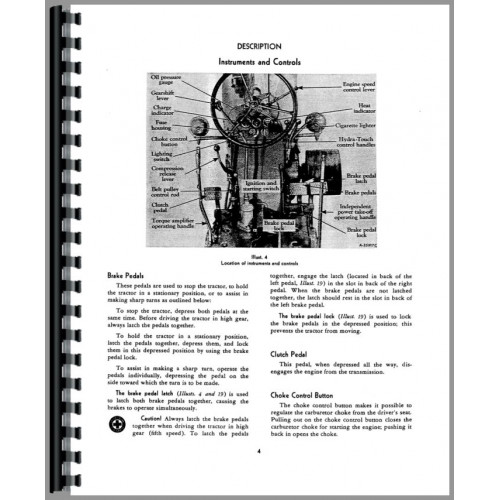 Farmall 400 Tractor Operators Manual (Diesel Only)