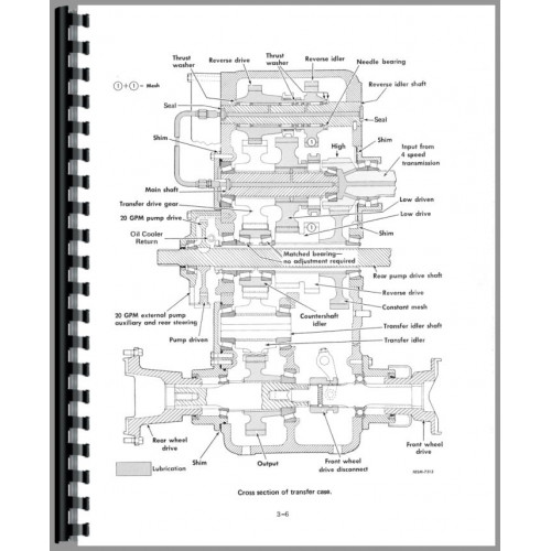 International Harvester 4166 Tractor Service Manual (Chassis)