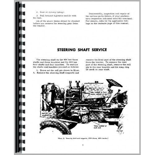 ih 444 tractor wiring diagram wiring diagram