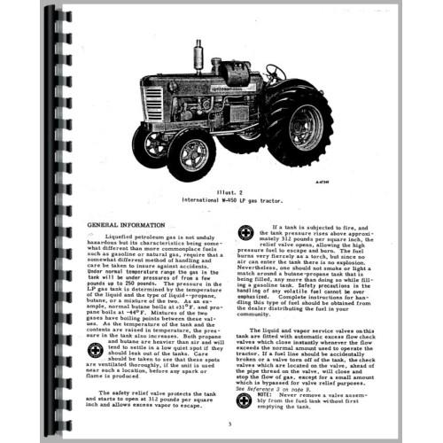 Farmall 450 Tractor Operators Manual