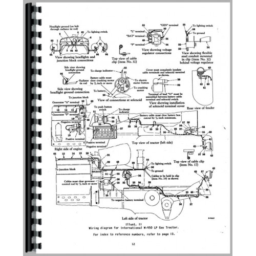 Farmall 450 Tractor Operators Manual