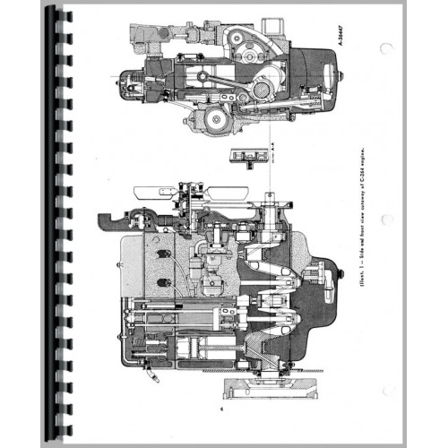 Farmall 400 Tractor Service Manual (1954-1956) (Gas and