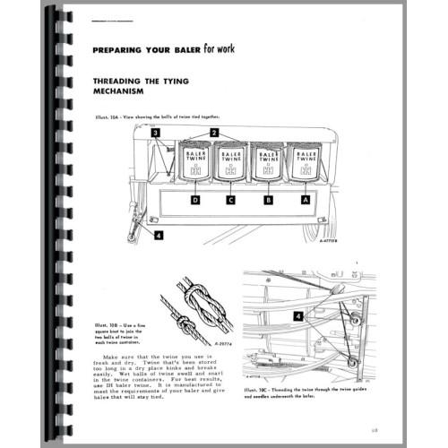 International Harvester 46 Baler Operators Manual