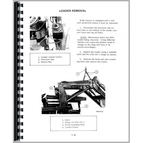 International Harvester 684 Tractor Service Manual (1977