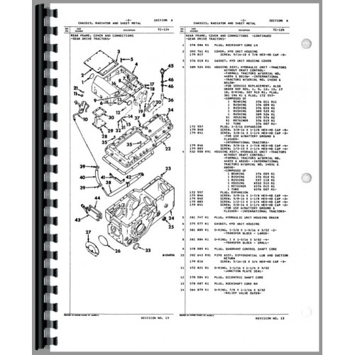 Farmall 140 Parts Diagram. farmall 340 tractor parts