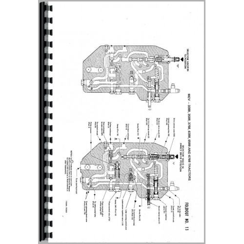 International Harvester 3588 Tractor Service Manual (Chassis)