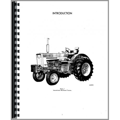 Farmall 706 Tractor Operators Manual (SN# 37237 and Up