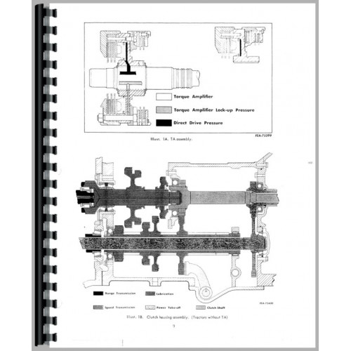 Farmall 706 Tractor Service Manual (Chassis)