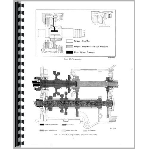 Farmall 706 Tractor Service Manual (Chassis)