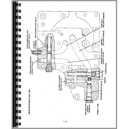 International Harvester 186 Hydro Tractor Service Manual