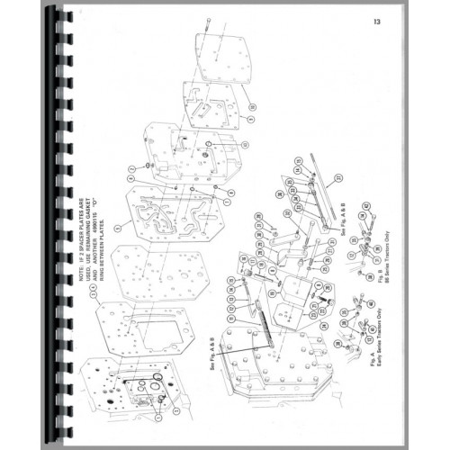 Farmall 1066 Tractor Parts Manual