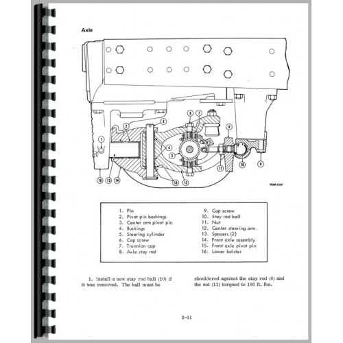 Farmall 100 Hydro Tractor Service Manual (1973-1976) (Chassis)