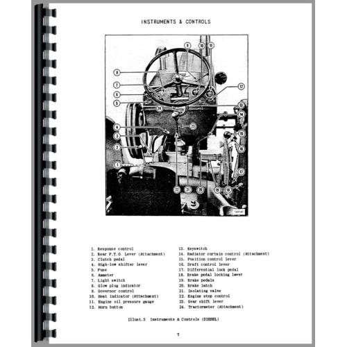 International Harvester B-275 Tractor Operators Manual