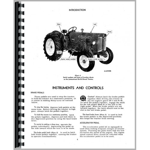 Ignition Switch Wiring Diagram On 384 Ih Uk Tractor,Switch