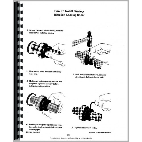 Farmall Cub 184 Lo-Boy Tractor Service Manual (1977-1980)