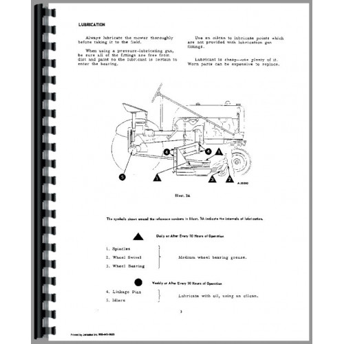Farmall Cub Tractor Attachments Operators Manual (Attachments)