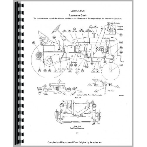 Farmall Super C Tractor Operators Manual