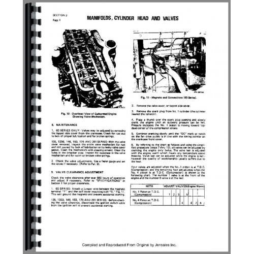 International Harvester Super H Tractor Service Manual