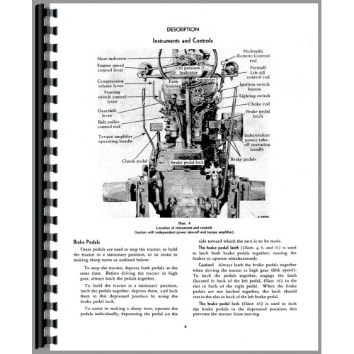 Farmall Super MDTA Tractor Operators Manual