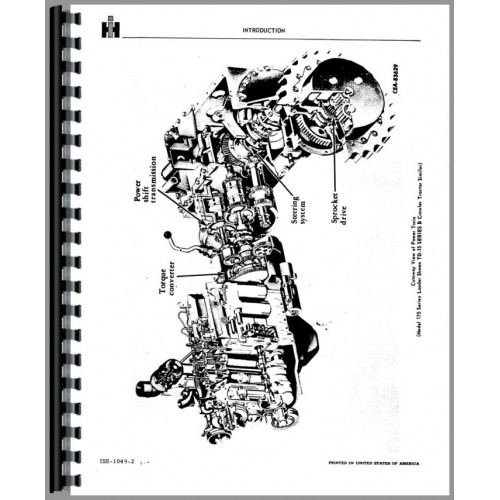International Harvester TD15B Crawler Service Manual (Chassis)