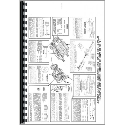 International Harvester TD14 Crawler Service Manual (Series)