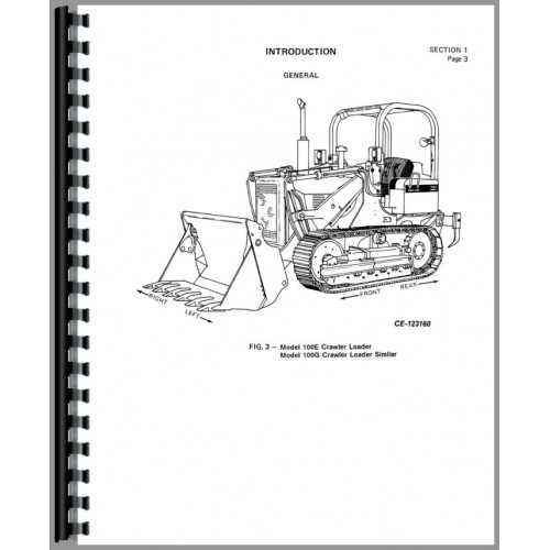 International Harvester TD7E Crawler Service Manual (SN