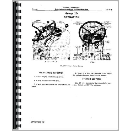John Deere 2010 Tractor Service Manual
