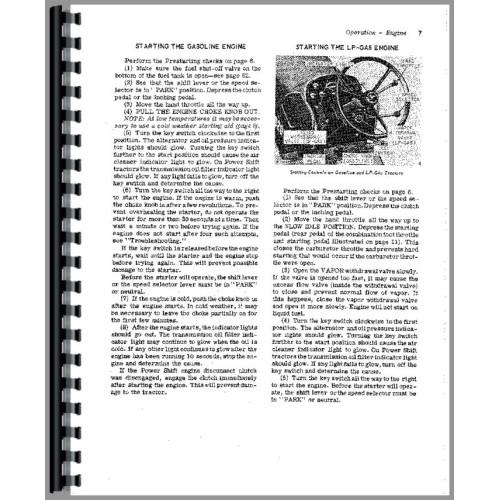 John Deere 3020 Tractor Operators Manual (SN# 123,000-149,999)