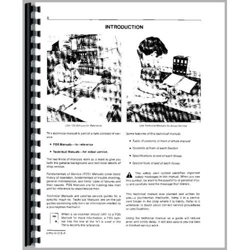 John Deere 4020 Tractor Service Manual (SN# 201,000-250,000)