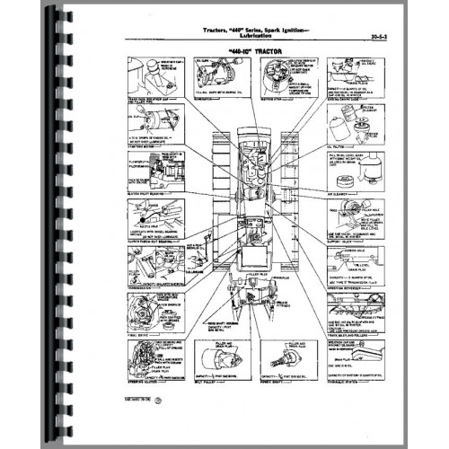 John Deere 440 Crawler Service Manual