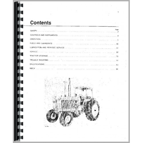 John Deere 4430 Tractor Operators Manual (All)