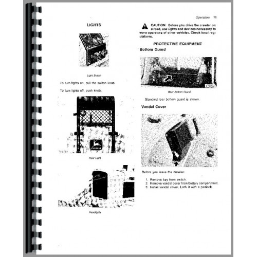 John Deere 450C Crawler Operators Manual