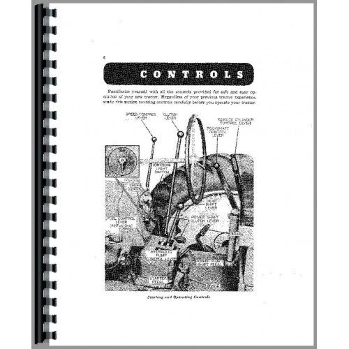 John Deere 520 Tractor Operators Manual