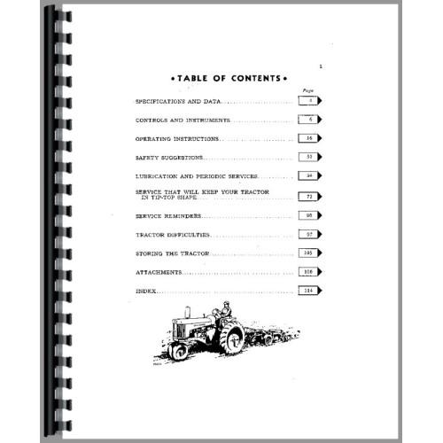 John Deere 530 Tractor Operators Manual