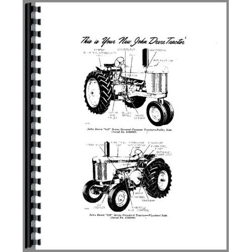 John Deere 630 Tractor Operators Manual (All SNs)