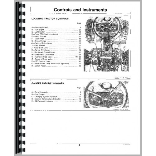 John Deere 650 Tractor Operators Manual