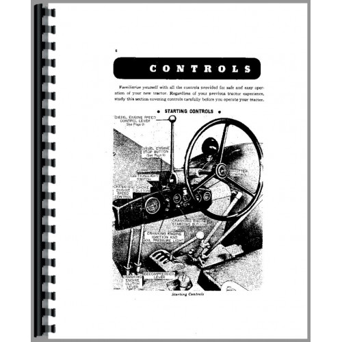 John Deere 830 Tractor Operators Manual