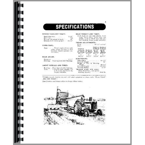 John Deere 830 Tractor Operators Manual (2 Cyl w/ Elec Start)