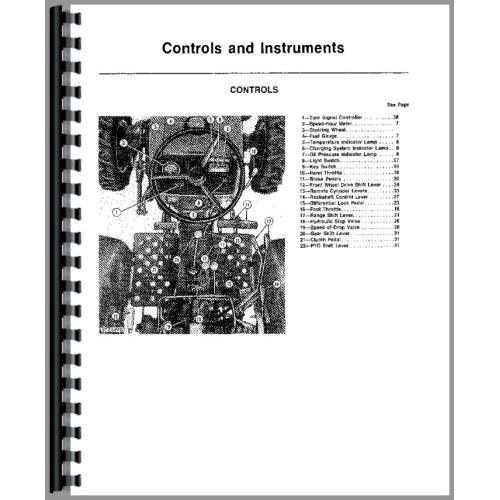 John Deere 850 Tractor Operators Manual (SN# 9001-016000)