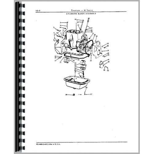 John Deere MC Crawler Parts Manual