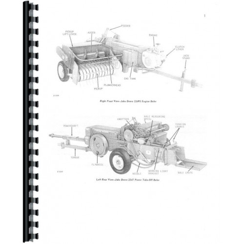 John Deere 224 Baler Operators Manual