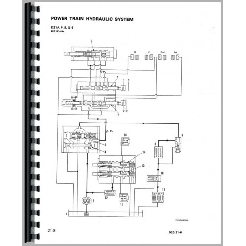Komatsu D20P-6A Crawler Service Manual (SN# 60001 and Up