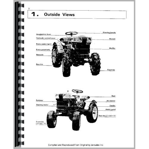 Kubota B6000 Tractor Service Manual