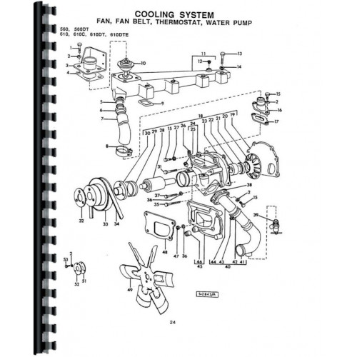 Long 560 Tractor Parts Manual (Includes 2 Volumes)