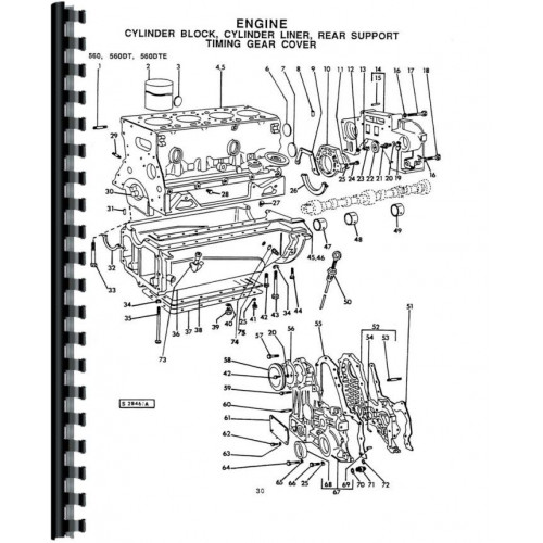 Long 610 Tractor Parts Manual (Includes 2 Volumes)